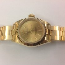 Rolex Lady oyster Ref.67198 yellow gold