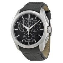 Tissot T-Trend Couturier Black Dial Chronograph Men's Watch