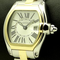Cartier Roadster Lady, steel and gold, ref. 2675, full set