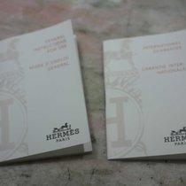 Hermès vintage kit warranty booklet and papers