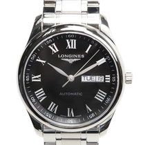 Longines Master Stainless Steel Black Automatic L2.755.4.51.6