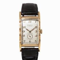 Gruen Curvex Precision Vintage Wristwatch, USA, 1930s