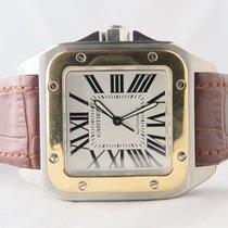 Cartier Santos 100 XL 18k Gold Steel