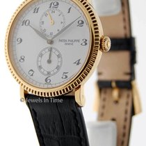 Patek Philippe Travel Time 5034 18K Yellow Gold Mens Watch...