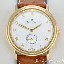 Blancpain VILLERET GELBGOLD 750 DATE 4795 AUTOMATIK