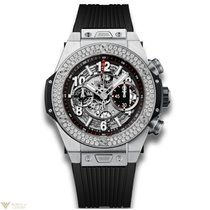 Hublot Big Bang 45 mm Unico Titanium Diamonds Men`s Watch