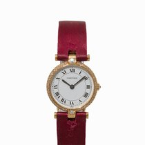 Cartier Must Ladies' Watch, 18K Gold, Switzerland, 1980s