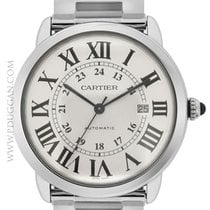 Cartier stainless steel XL Ronde Solo