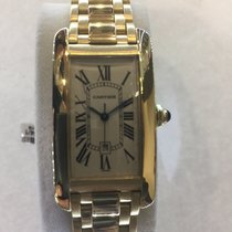 Cartier Tank Americaine Automatic 18 kt gold