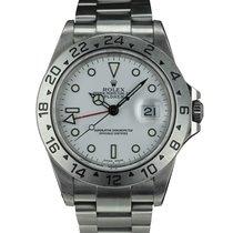 Rolex EXPLORER 16570 WHITE DIAL FULL SET