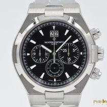 Vacheron Constantin Overseas Chronograph Black Dial 49150 Full...