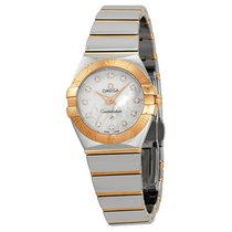 Omega Constellation Rose Gold Mother of Pearl Ladies Watch...