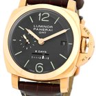 "Panerai Gent's 18K Rose Gold  1950 PAM 289 ""Luminor..."