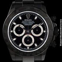 Rolex 116520  Daytona Black Out Bamford Pvd Steel