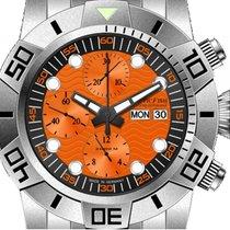 Nauticfish Waterwall Chronograph 2000M Stahl Automatik...