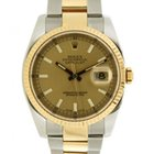Rolex Datejust Classic 116233 In Steel And Yellow Gold, 36mm