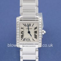 Cartier 18ct White gold Tank Francaise WE1002S3.