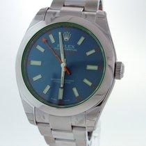 Rolex Milgauss Green Crystal