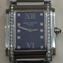 Patek Philippe Twenty 4 stainless steel and diamonds ref.4910/...