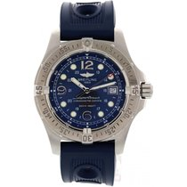 Breitling Men's Breitling SuperOcean SS A17390 Rubber Strap