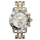Tissot Men's T17248633 PRS200 Two-Tone Chronograph Watch