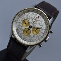 Breitling Navitimer Cosmonaute Gold Steel 24 Hour Manual...