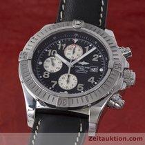 Breitling Super Avenger Stahl Chronograph Automatik Ref. A13370