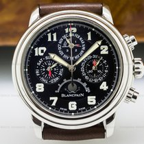 Blancpain 2585F-1130 Perpetual Calendar Flyback Chronograph SS...