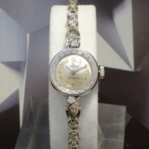 Omega Ladymatic With Diamonds 17 Jewels