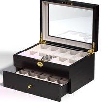 Rothenschild Uhrenbox RS-1672-20E fuer 20 Uhren ebony