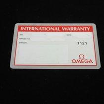 Omega vintage warranty card blank speedmaster  or all models  nos