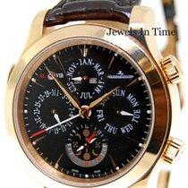 Jaeger-LeCoultre Master Grande Reveil 18k Rose Gold Watch...