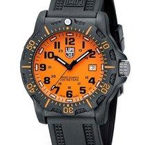 Luminox Mens Black Ops Carbon Orange Dial - PC Carbon Reinforc...