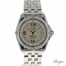 Breitling Wings Lady MOP Dial/Diamonds