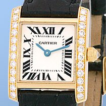 "Cartier Diamond ""Tank Francaise"""