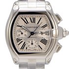 Cartier Roadster XL Chronograph Stainless Steel Silver