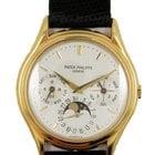 Patek Philippe 18k yellow gold Perpetual Calendar Moonphase