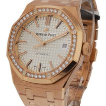 Audemars Piguet Royal Oak Ladys Automatic in Rose Gold with...