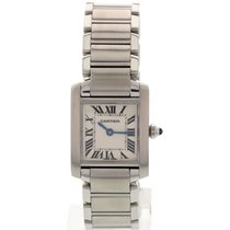 Cartier Ladies Cartier Tank Francaise Stainless Steel Quartz...