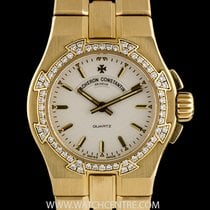 Vacheron Constantin 18k Y/G Diamond Bezel Overseas Ladies...