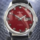 Seiko 1960s Red Dial Manual Wind Vintage Dress Watch Made In...