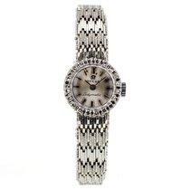 Omega Ladymatic 18k White Gold Ladies Watch
