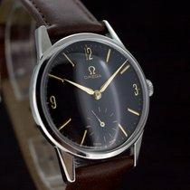 Omega Black Dial Handaufzug Kaliber 268 aus 1960 Super Zustand