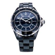 Chanel J12 Black Ceramic Automatic Black Dial Unisex Watch H0685