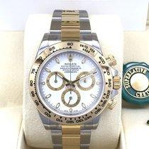 勞力士 (Rolex) Cosmograph Daytona 116503 Gold Steel White Dial [NEW]