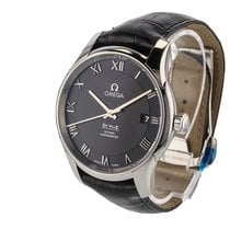Omega De Ville Steel Black Dial 431.13.41.21.01.001 Mens watch