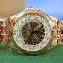 Patek Philippe NEW World Time Rose Gold with Bracelet