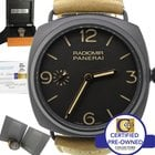 Panerai Radiomir Black Composite 3 Day PAM 504 47mm Manual...