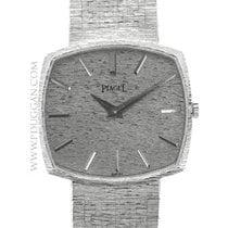 Piaget 18k white gold vintage wristwatch