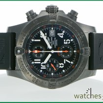 Breitling Avenger Skyland  Blacksteel Box Papers 45.5 mm limeteed